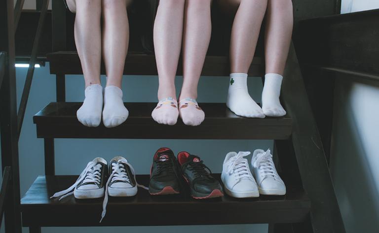 tipos de meias masculinas e femininas