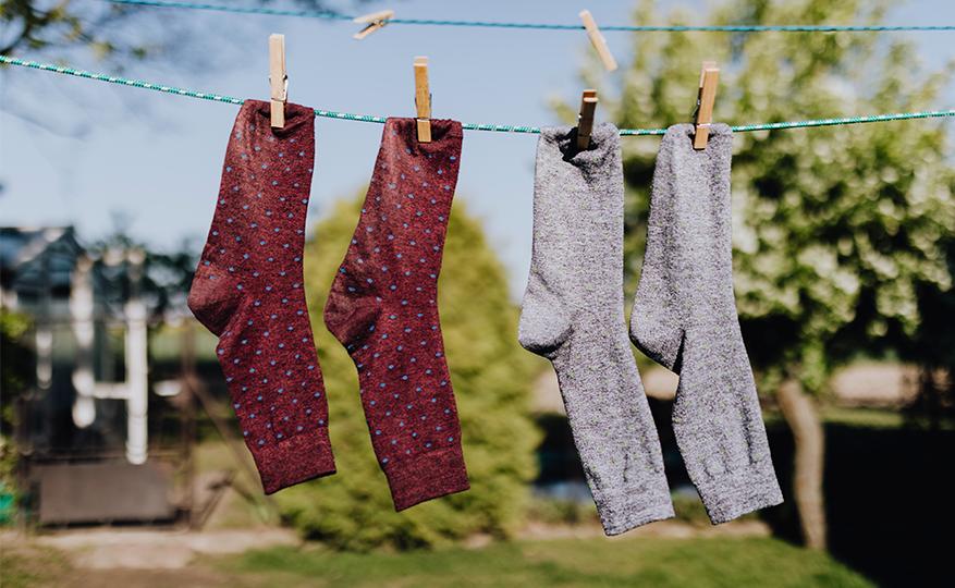 tipos de meias masculinas