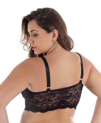 Cropped strappy plus size